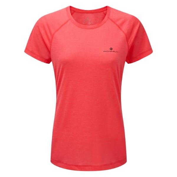T-skjorte Dame  – Ronhill Momentum – Hot Pink