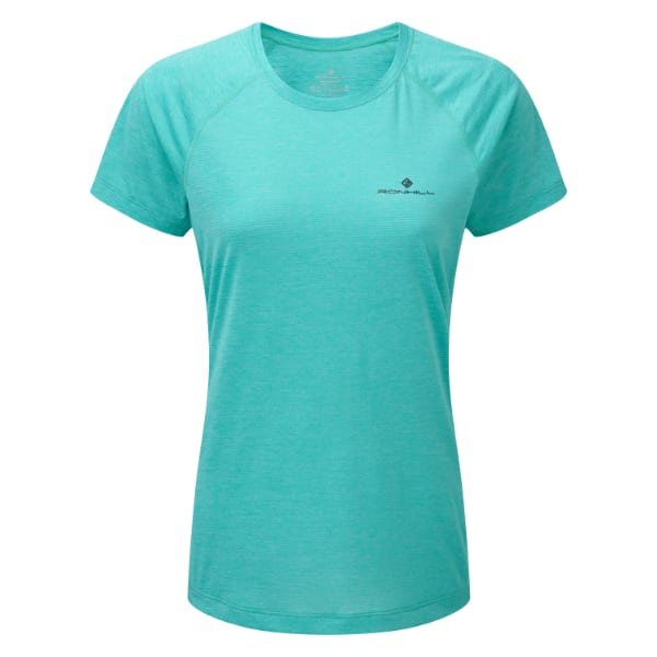 T-skjorte Dame  – Ronhill Momentum – Peacock